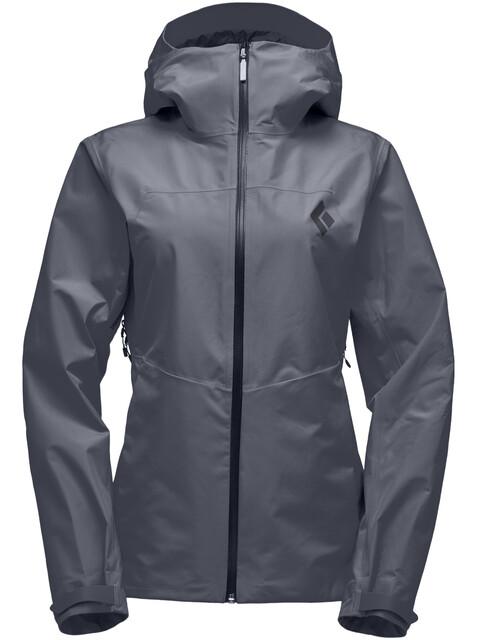 Black Diamond Liquid Point Shell Jacket Women carbon